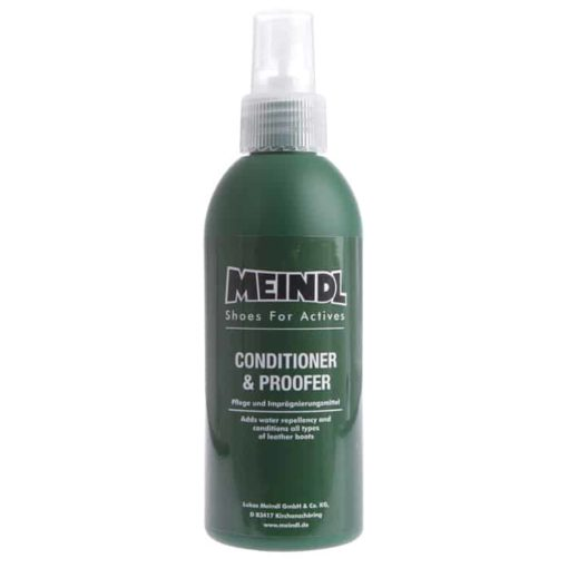 photo of meindl conditioner and proofer spray