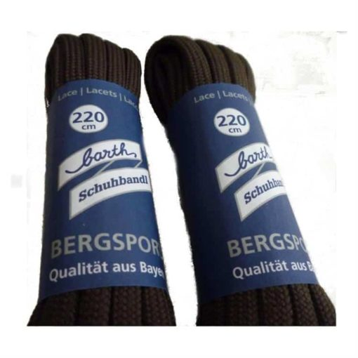 photo of Meindl 220cm hunting boot laces brown colour