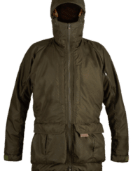 photo of Paramo mens pajaro jacket in moss colour