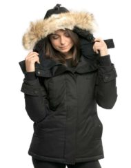 nobis luna-ladies-parka-black