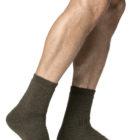 woolpower 8414 socks pine green 400