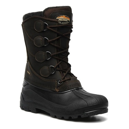 photo of meindl mens solden in brown colour