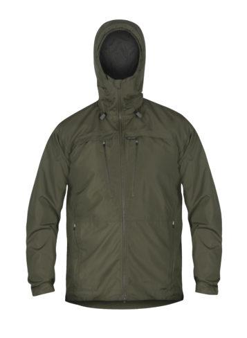 photo of Paramo mens bentu windproof jacket in moss colour