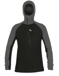 photo of Paramo mens technic hoodie in black/grey colour