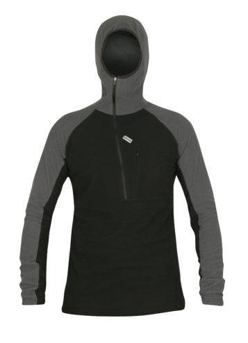photo of Paramo mens technic hoodie in black/grey colour
