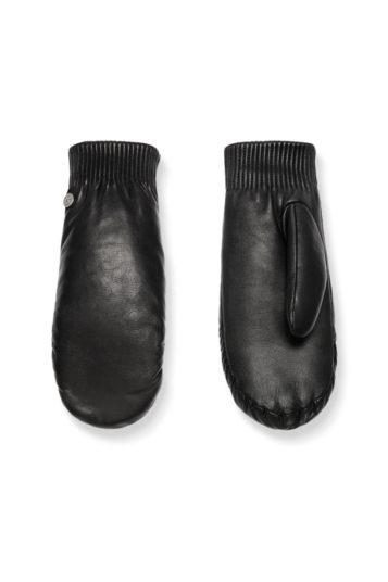 5288L_61 Canada Goose ladies leather luxe mitt black