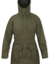 photo of paramo ladies alondra jacket in moss colour