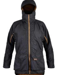 photo of Paramo mens pajaro jacket in dark grey colour