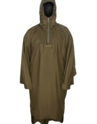 photo of Paramo windproof poncho in moss colour