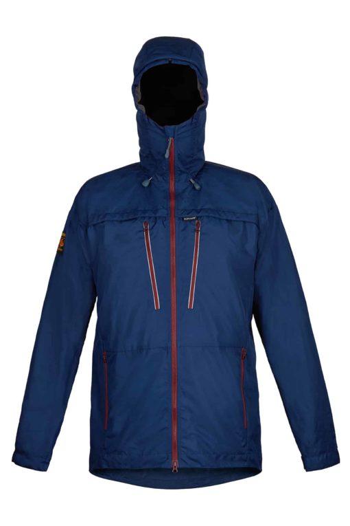 photo of Paramo mens bentu windproof jacket in midnight colour
