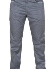 photo of Paramo mens montero trousers in blue denim colour