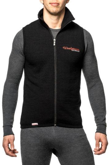 woolpower vest 400 black 7244