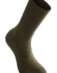 photo of Woolpower socks 200 in pine green colour