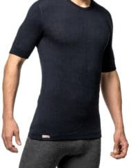 woolpower 7102 tee dark navy