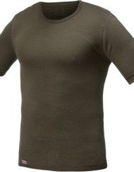 woolpower 7102 tee pine green
