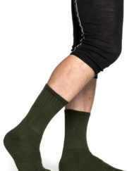 woolpower 8412 200 socks pine green