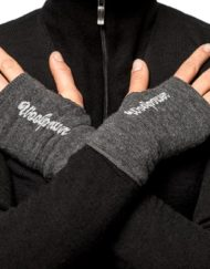 woolpower 9672 wrist gaiter 200 grey