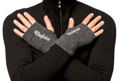 photo of Woolpower wrist gaiters in grey colour