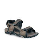 photo of meindl capri sandal in dark brown colour