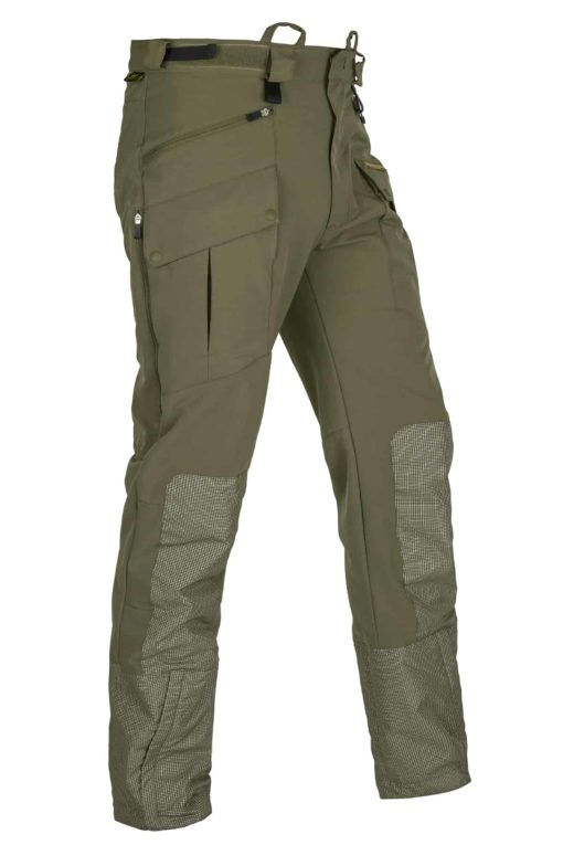 photo of Paramo mens halcon trek trousers in capers colour