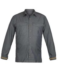 Paramo mens katmai shirt in dark grey colour