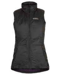 photo of paramo womens torres medio gilet in black colour