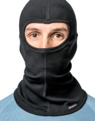 photo of Woolpower balaclava lite in black colour