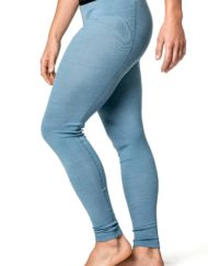 photo of Woolpower long johns lite womens in nordic blue colour
