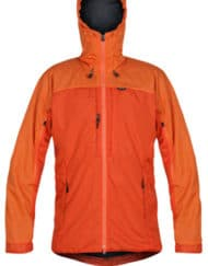 photo of Paramo mens alta 3 jacket in pumpkin colour