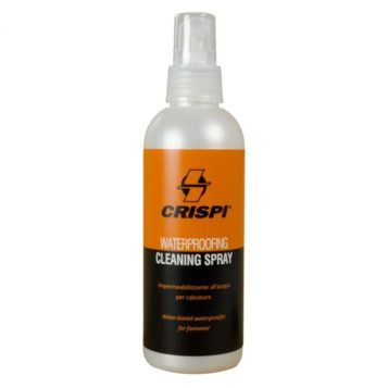 photo of crispi waterproofing cleaning spray