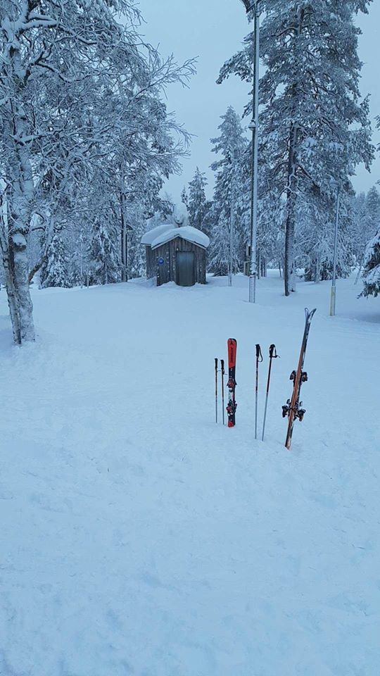 photo of Ruka ski resort finland