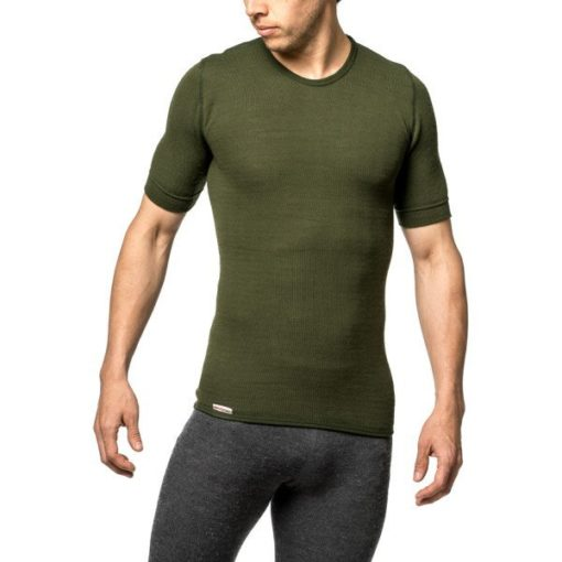 photo of woolpower 7102 tee 200 in green colour