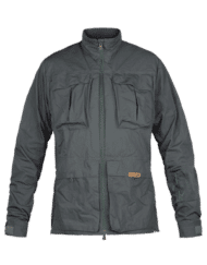 photo of Paramo halkon traveller jacket dark grey colour