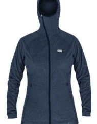 photo of Paramo womens alize fleece indigo blue colour