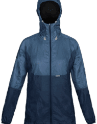 photo of Paramo womens alize windproof jacket in indigo colour