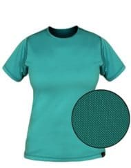 photo of Paramo womens cambia tee adriatic colour