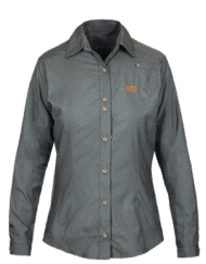 photo of Paramo womens socorro shirt dark grey colour