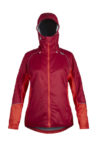 photo of Paramo womens mirada jacket in carmine colour