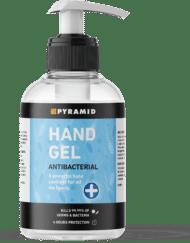 photo of pyramid antibacterial hand sanitiser gel 500ml